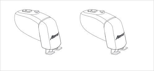 1 Dachträger Grundträger Lastenträger Nissan Primastar BJ 11/2002->    1.Bügel