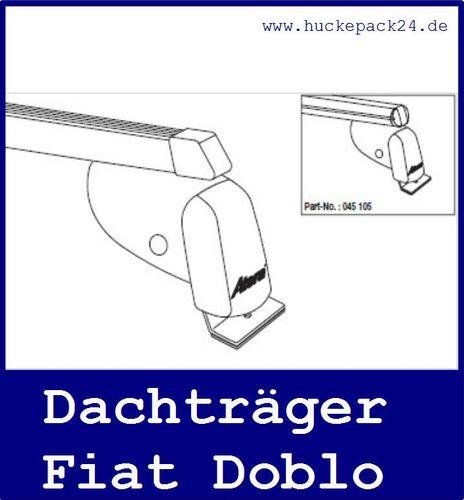 Dachträger Grundträger Fiat Doblo passend für Baujahr 10/2001-02/2010