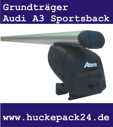 Dachträger Audi A3 Sportsback Reling 09/2004-> Stahlträger Grundträger