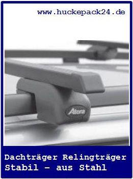 2 Atera Dachträger Relingträger Grundträger Nissan Qashqai  Reling BJ 03/2010->