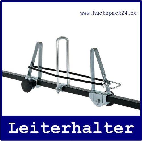Leiternhalter Halter für Leitern auf dem Grundträger und Dachträger