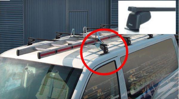 2 Dachträger Grundträger Lastenträger Fiat Scudo  Citroen Jumpy  Peugeot Expert
