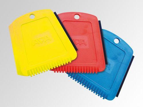 1 Eiskratzer Auto Eisschaber  diverse Farben z.B. gelb,rot,blau