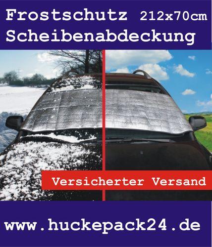Scheibenabdeckung XL Eisschutz Thermofolie Frostschutz Auto 212 x 70cm