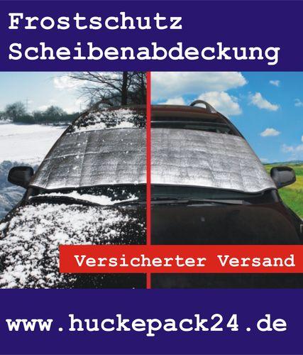 Scheibenabdeckung Frostschutz Thermo Scheibenschutz 200 x80cm Alufolie