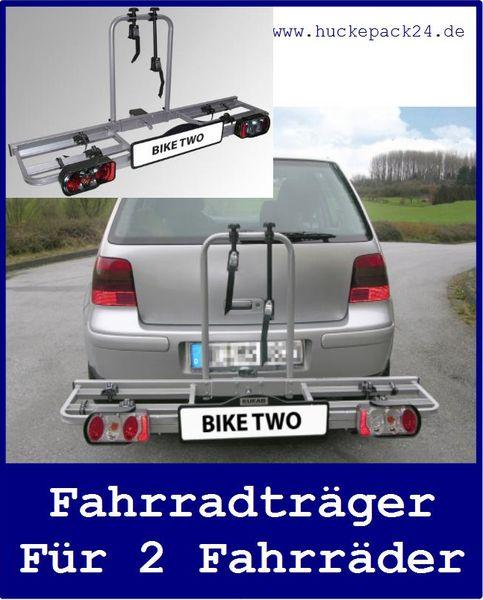 Fahrradträger Kupplungsträger Fahrradhalter für die Anhängerkupplung für 2 Räder