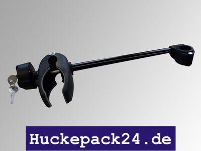 Rahmenhalter, Halterung Fahrradhalter lang,  30cm, abschließbar