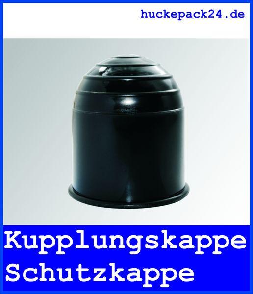 Schutzkappe für Anhängerkupplung PVC schwarz Kupplungskappe Kappe