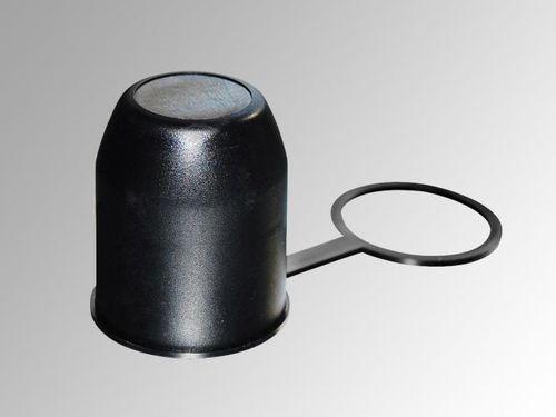 Schutzkappe Anhängerkupplung Abdeckung Kupplungskugel schwarz mit Schlaufe