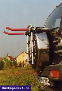 Fahrradträger Geländewagen Ersatzrad Eckla Porty 4x4