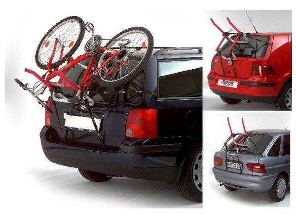 Fahrradträger Heckklappe Kia Magentis 2001-2006  2Räder Heckträger Stahl