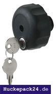 Griffschraube Schloss für Fahrradträger Fahrradhalter Haltearme M8 Verschluss