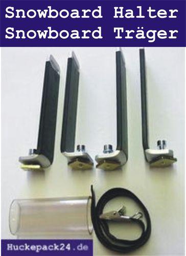 Snowboardgreifer Snowboard Halter Anbausatz für Eckla Porty Porty 4x4  Ecoty