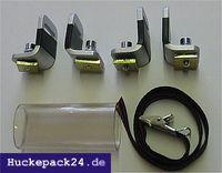Skiträger Erweiterung 1 Paar zusätzlich für Eckla Porty Ecoty Fahrradträger