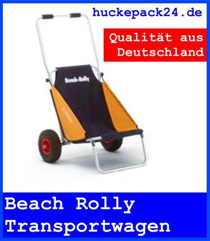 Beach Rolly Eckla blau/gelb Strandstuhl Transportwagen Sport & Camping