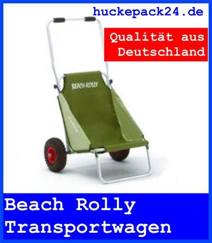 BEACHROLLY Eckla olivgrün Strandstuhl Transportwagen Camping Beach Rolly tauchen