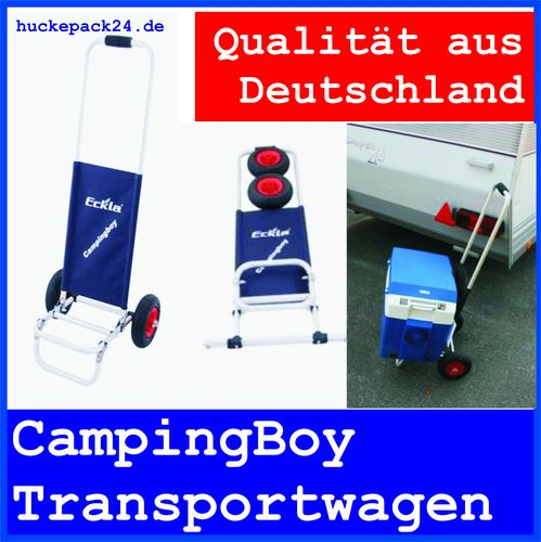 CampingBoy Tranportwagen Bollerwagen Camping & Outdoor Made in Germany