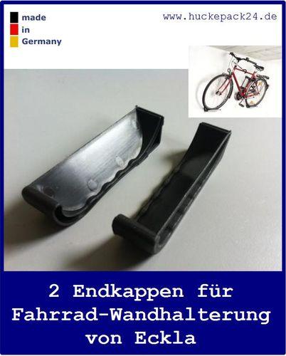 Endkappen für Fahrrad Wandhalterung von Eckla Bike Port 2 Stück