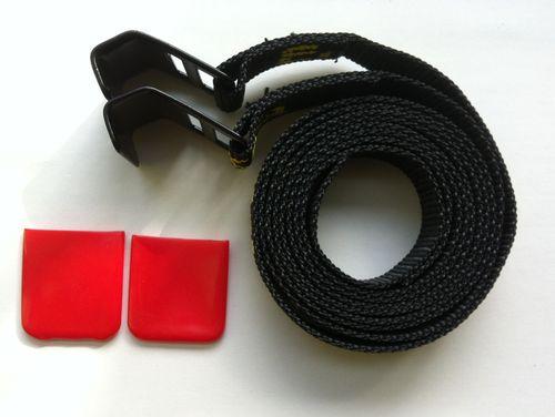 2 x Eckla Sonderhaken Form A für Fahrradträger Heckträger Porty, Grizzly Ecoty