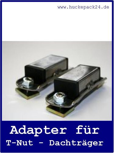 Adapter für Dachträger mit T-Nut Eckla 1 Paar T Nut Adapter