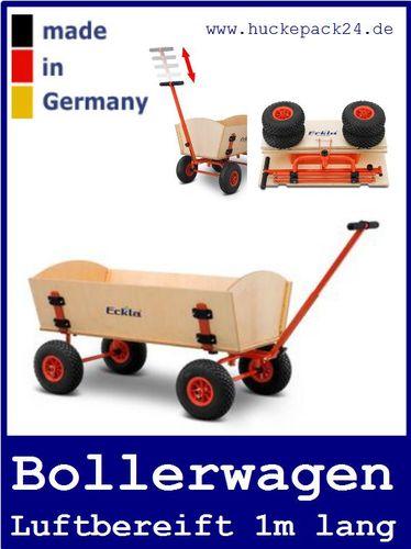 Bollerwagen Easy Trailer Long zerlegbar 1m lang Eckla Handwagen Transportwagen