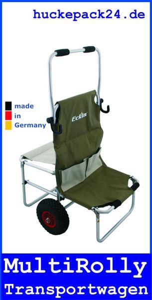 Eckla Multi-Rolly Transportwagen ohne Multi-Leiste für Freizeit Camping & Hobby