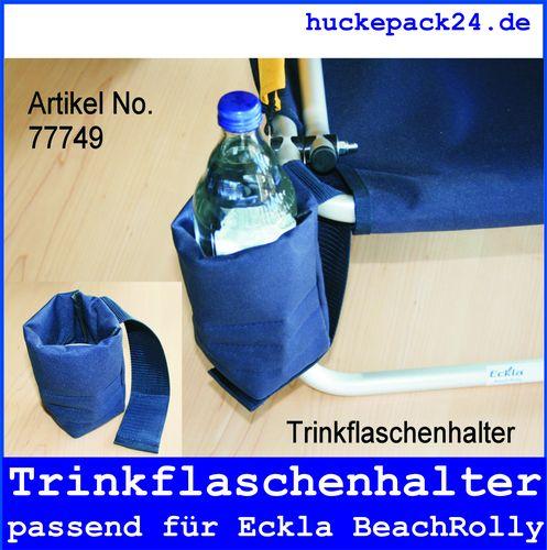 Trinkflaschenhalter Halter für Trinkflasche Eckla Beachrolly Flaschenhalter blau