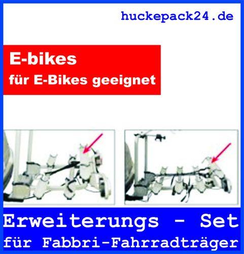 Fahrradträger Erweiterungssatz Fabbri Kupplungsträger von 2 auf 3 oder 3 auf 4