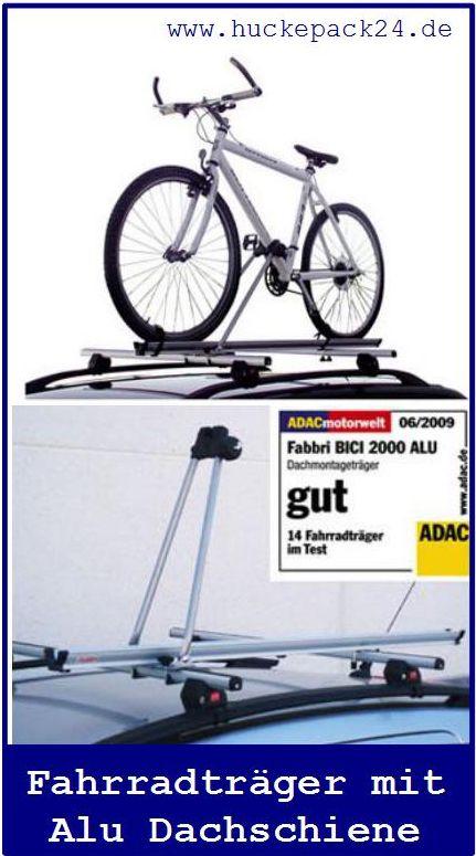 Dach Fahrradhalter Fahradträger ALU abschließbar BICI 2000 Alu