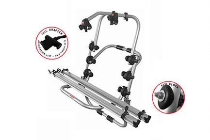 fahrradtr ger alu f r 2 fahrr der auf dem heck ohne. Black Bedroom Furniture Sets. Home Design Ideas