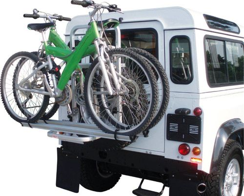 fahrradtr ger land rover defender ab 2004 auf reserverad. Black Bedroom Furniture Sets. Home Design Ideas