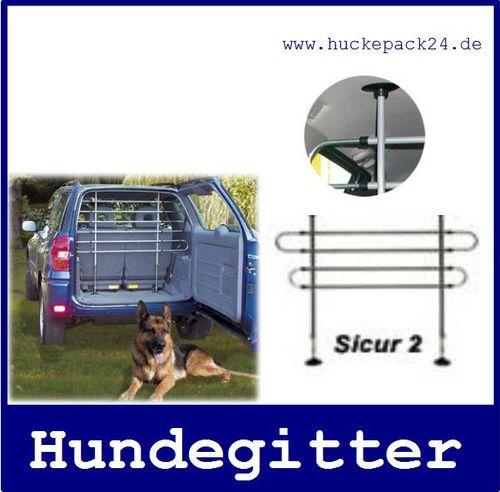 Hundegitter Dog Guard  verstellbar B 88-147cm H 65-110cm 4 Stäbe