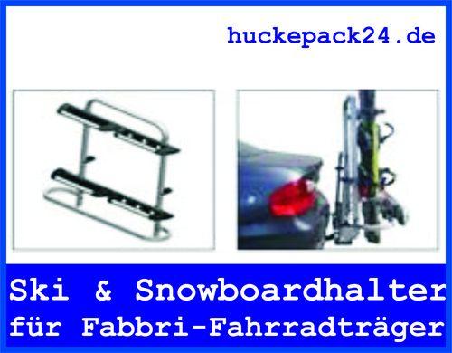 Fahrradträger Skiträger Snowborad Umbausatz Fabbri Kupplungsträger