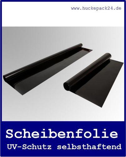 Scheibenfolie Sonnenschutz Folie schwarz Kombi-Pack 0,76 x1,52m & 0,51 x 1,52m