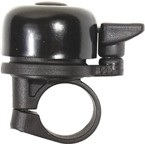 Glocke Klingel Fahrradklingel Kompaktglocke schwarz Fahrrad & Rollator