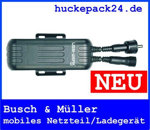 Busch & Müller mobiles Lade-/Netzgerät USB Werk AC mobiles Laden per Nabendynamo
