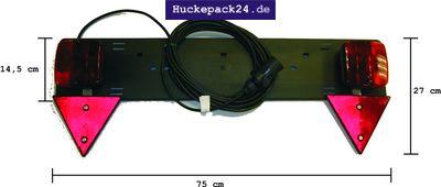 Kennzeichenbeleuchtung Beleuchtungsstange  Anhängerbeleuchtung Zusatzlichtleiste