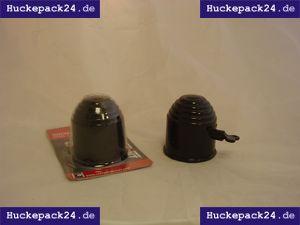 Schutzkappe Anhängerkupplung PVC schwarz abschließbar