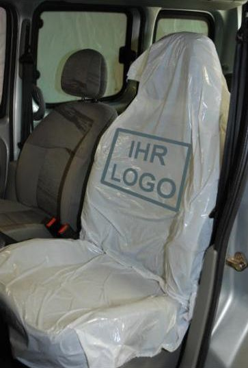 Sitzschoner Schutzbezüge Kfz PE Überzüge Autositze  Werkstattschoner 10Stck